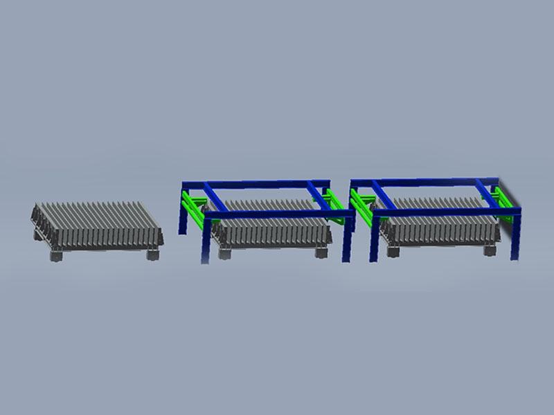 邳州輕質陶粒隔墻板模具